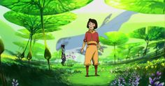 KORRA NATION - Check out a side-by-side comparison of this...