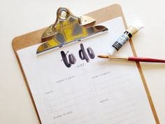 $11 for 50 pages of To-Do List Notepad by Studio9Co on Etsy