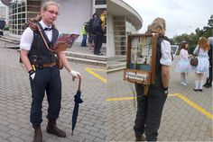 My steampunk librarian cosplay by Krcmelound on DeviantArt Steampunk Crafts, Steampunk Costume, Steampunk Clothing, Steampunk Fashion, Cool Costumes, Cosplay Costumes, Halloween Costumes, Best Cosplay, Awesome Cosplay