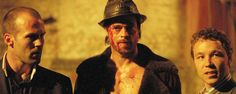 Snatch - Love this movie, the dialogue is great, one of Brad Pit's best roles (Mickey) - Dags? What? Yeah, dags...