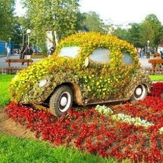Flower car - @pisarenko- #webstagram
