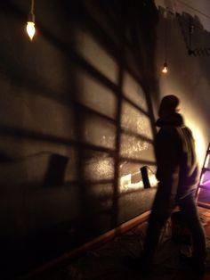 THIRD DAY _ Málaga _ 3rd ACT 'Among fugue & return' _ On the walls *
