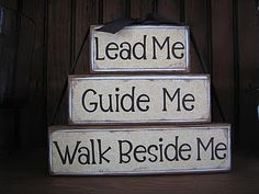 Lead me guide me--Stackers