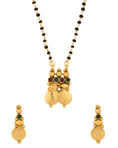 andhra style mangalsutra J Black, Gold Necklace, Beads, Stuff To Buy, Jewelry, Style, Fashion, Beading, Swag