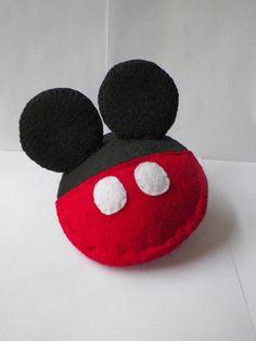 Felt Pillow Mickey Mouse