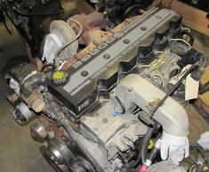 Cummins Engine Information: 24 valve with more HP than earlier model. Cummins Motor, Dodge Cummins, Dodge Trucks, Truck Repair, Engine Repair, Cummins Diesel Engines, Diesel Trucks, Dodge Mega Cab, Engine Swap