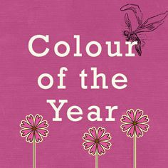 The Colour of 2014 - have you met Radiant Orchid yet??