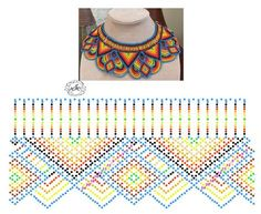 Дыхание Бисера's photos Diy Necklace Patterns, Bead Loom Patterns, Beaded Jewelry Patterns, Beading Patterns, Free Beading Tutorials, Beaded Crafts, Necklace Tutorial, Beaded Collar, Stitching Leather