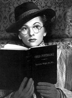 Joan Fontaine from the movie, Suspicion with Cary Grant.