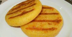 Arepas+de+maíz+con+queso