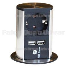 Konnektor Munkalapba süllyeszthető ELEVATOR+USB Elevator, Drip Coffee Maker, Popcorn Maker, Usb, Kitchen Appliances, Diy Kitchen Appliances, Home Appliances, Coffee Making Machine, Kitchen Gadgets