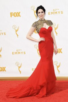 Laura Prepon | All The Looks From The 2015 Emmy Awards