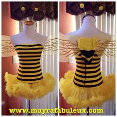 Hey, I found this really awesome Etsy listing at http://www.etsy.com/listing/164834233/honey-bee-halloween-costume-with