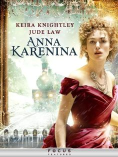Anna Karenina Starring Keira Knightley, Jude Law, Aaron Taylor-Johnson, and Emily Watson. Set in late century Russia high-society, the aristocrat Anna Karenina enters into a life-changing affair with the affluent Count Vronsky. Great Movies, New Movies, Movies To Watch, Movies Online, Movies And Tv Shows, Amazon Movies, Jude Law, Anna Karenina Movie, Ana Karenina