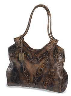 Vintage-Style Shoulder Bag