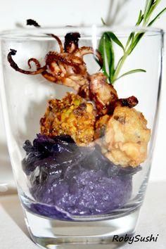 L'unione perfetta: #calamaro e #cavolo viola | RobySushi