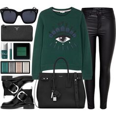 How To Wear Green Eyes Outfit Idea 2017 - Fashion Trends Ready To Wear For Plus Size, Curvy Women Over 20, 30, 40, 50