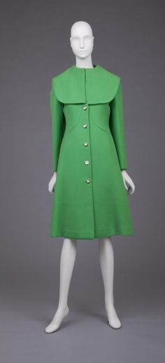 Coat    Pauline Trigère, 1960    The Goldstein Museum of Design