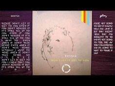 ROSTAM - Don't Let it Get to You (OFFICIAL LYRICS VIDEO)  #rostam