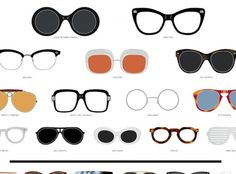 775b223588 Infographic  The Most Iconic Eyewear in History