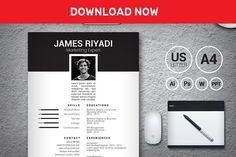 James Black Resume | 2 pages by PitchScope on @mywpthemes_xyz