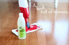 How I clean my floors...