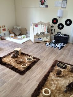 ideas for baby room ideas childcare playgrounds - Kinderbetreuung Toddler And Baby Room, Toddler Rooms, Baby Play, Reggio Emilia, Baby Room Ideas Early Years, Micro Creche, Heuristic Play, Childcare Rooms, Toddler Classroom