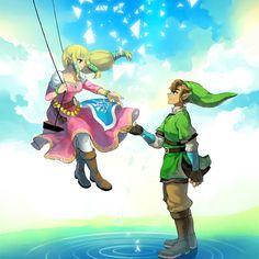 Zelda and Link SS
