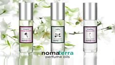 Let Nomaterra take you on a scentual journey! These beautiful perfumes for women & men are inspired by our favorite cities & leave us dreaming of far-off places! Perfume Oils, Perfume Bottles, Roll On Perfume, Perfume Reviews, Beautiful Perfume, Orange Blossom, Smell Good, Vodka Bottle, Essential Oils