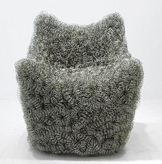 "Korean designer Yangsoo Pyo - the ""Afro Chair"""