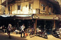 Chor Market Mumbai, June 26 2014 — the corner where art meets life.