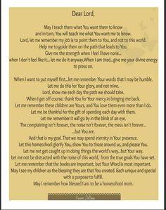 Karen DeBeus poem for homeschoolers