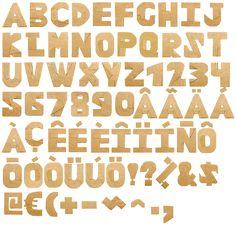 CardboardCut-font-alphabet