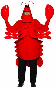 Our adult rock lobster costume is a great addition to food group or little mermaid group costumes. The funny Halloween lobster costume is also great with our sailor costumes. Bug Costume, Costume Shop, Costume Ideas, Costume Works, Themed Halloween Costumes, Wholesale Halloween Costumes, Adult Halloween, Halloween Makeup, Carnival