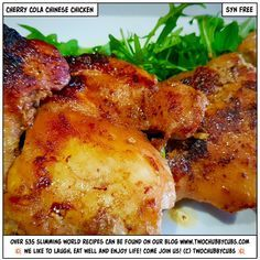 Looking for an easy taster night idea? Make a batch of these cherry coke chicken thighs - cheap, quick and only a few ingredients but so tasty and syn-free! Slimming World Dinners, Slimming World Recipes, Slimming Eats, Syn Free Pancakes, Oat Pancakes, Coke Chicken, Best Casserole Dish, Boneless Chicken Thighs, Cooking Recipes