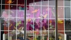 Butterfly Easter Spring Window Display