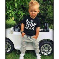 2pcs Toddler Kids Baby Boy T Shirt Tops Long Pants Trousers Outfits Clothing Set | eBay