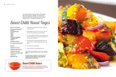 Sweet Chilli Roast Veg http://www.revive.co.nz/info/revive-home/the-revive-cafe-cookbook