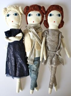 100% Organic Cotton Dolls
