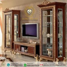 Bufet TV Hias Jati Ukir Mewah Norwich, bufet tv jati, bufet jati ukir, bufet jati mewah, lemari tv jati, lemari tv ukir mewah, mebel ukir mewah, mebel ukir Tv Showcase, Luxury Home Furniture, Contemporary Coffee Table, Cupboards, Divider, Interior, House, Home Decor, New Houses