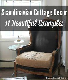 Scandinavian Cottage Decor -- 11 Beautiful Examples