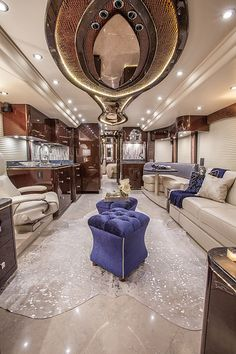 There are a lot of kinds of RVs out there. Big RVs have a lot of storage. It is possible to also hire RVs to learn… Continue Reading → Luxury Bus, Luxury Life, Luxury Living, Luxury Homes, Interior Motorhome, Tour Bus Interior, Luxury Motorhomes, Luxury Interior Design, Rv Living