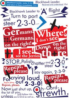 Stop that Polish chatter, 2-3-0, Battle of Britain Movie, Wall Art, Downloadable Art, Printable Art, Vintage, Retro, Sign by Alomatic on Etsy