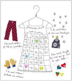 Le calendrier 2013 des coquettes / Papillon Papillonnage