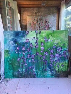 ...abstract art by sonja blaess/wilderslow... acryl on canvas...120x160cm...petit jardin 2018...