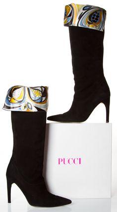 Emilio Pucci Boots @FollowShopHers