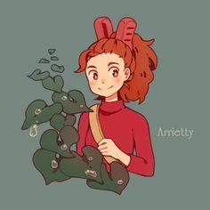 the secret world of arrietty Secret World Of Arrietty, The Secret World, Studio Ghibli Art, Studio Ghibli Movies, Hayao Miyazaki, Studio Ghibli Characters, Character Art, Character Design, Image Manga