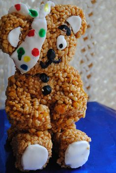 This absolutely brilliant rice crispie Pudsey was made by the Tales of Pigling Bland blogger as part of the Baking Mad campaign and you can make him too! We love seeing your creative flair in the form of baking treats, thanks :)