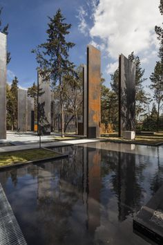 5osA: [오사] :: *멕시코 차풀테펙 메모리얼 파크 [ Gaeta Springall Architects ] Memorial to the Victims of Violence in Mexico