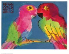 Two Parrots - Wallace Ting